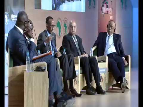 President Kagame participates in a High level debate at the Annual Meeting at the ADB