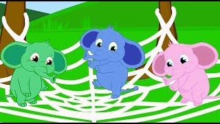 Um elefante se Balanava  1 Hora de musica infantil com Os Amiguinhos
