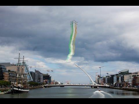 Frecce Tricolori Flypast over Dublin