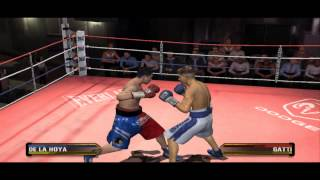Oscar De La Hoya Vs Arturo Gatti - Fight Night Round 3 Gameplay PC