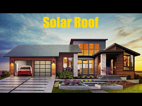 New Invention by Tesla - A Different Solar Roof