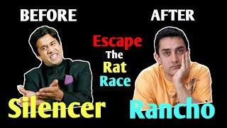 2 Steps to Escape the Rat Race   Hindi motivation by Willpower Star  