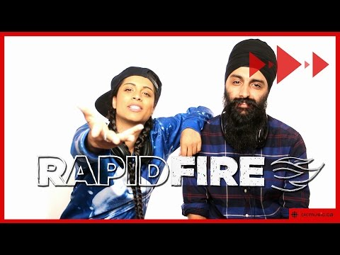 Lilly Singh aka Superwoman & Humble the Poet play 'Jam or Not A Jam?'