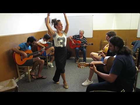 Fundación Cristina Heeren. Curso Flamenco Verano 2016. Clase De Guitarra Con Paco Cortés