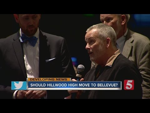 Parents Voice Concern In Proposed Hillwood High School Move To Bellevue