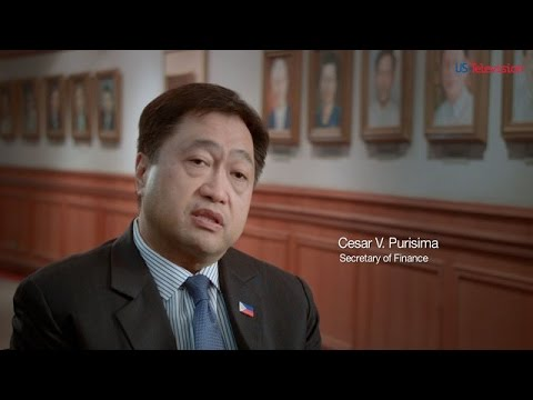 US Television - Philippines 2 - Interview with Cesar V. Purisima