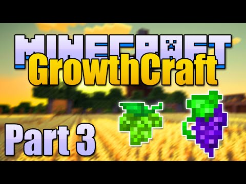 Minecraft GRAPES, RICE, & HOPS Mods - Growthcraft Part 3/4 (Minecraft v1.6.4 Mod Spotlight)