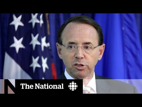 Rod Rosenstein to meet with Trump, still has job for now