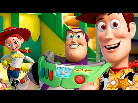 Toy Story 3 Game - Sherif Woody's Town ! Toy Story 3 full Movie Game - Toy Story Disney Games