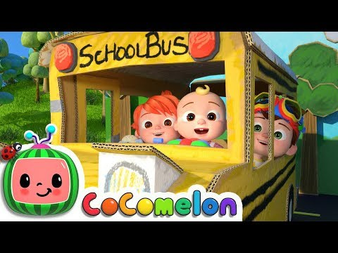 Wheels On The Bus 2 | CoCoMelon Nursery Rhymes & Kids Songs