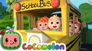 Wheels on the Bus 2 | CoCoMelon Nursery Rhymes & K