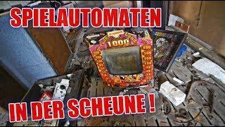 LOSTPLACE : KFZ Werkstatt und Spielautomaten auf dem Bauernhof ! | ItsMarvin