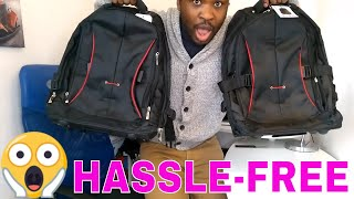WHEELED LAPTOP BACKPACK || Massive Unboxing (YouTubers)