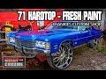 KandyonChrome: 1971 Impala HARD TOP FRESH Kandy PAINT FRANKIES CUSTOM SHOP