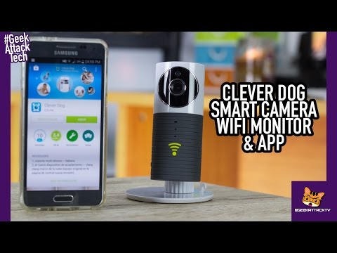 Clever Dog Smart Camera WiFi Home Monitor