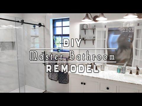 Our Master Bathroom Remodel!