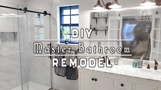 Our Master Bathroom Remodel!