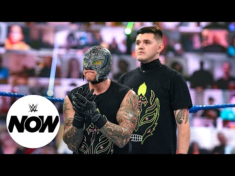 Will the Mysterios achieve a first in WWE history at WrestleMania Backlash?: WWE Now, May 16, 2021