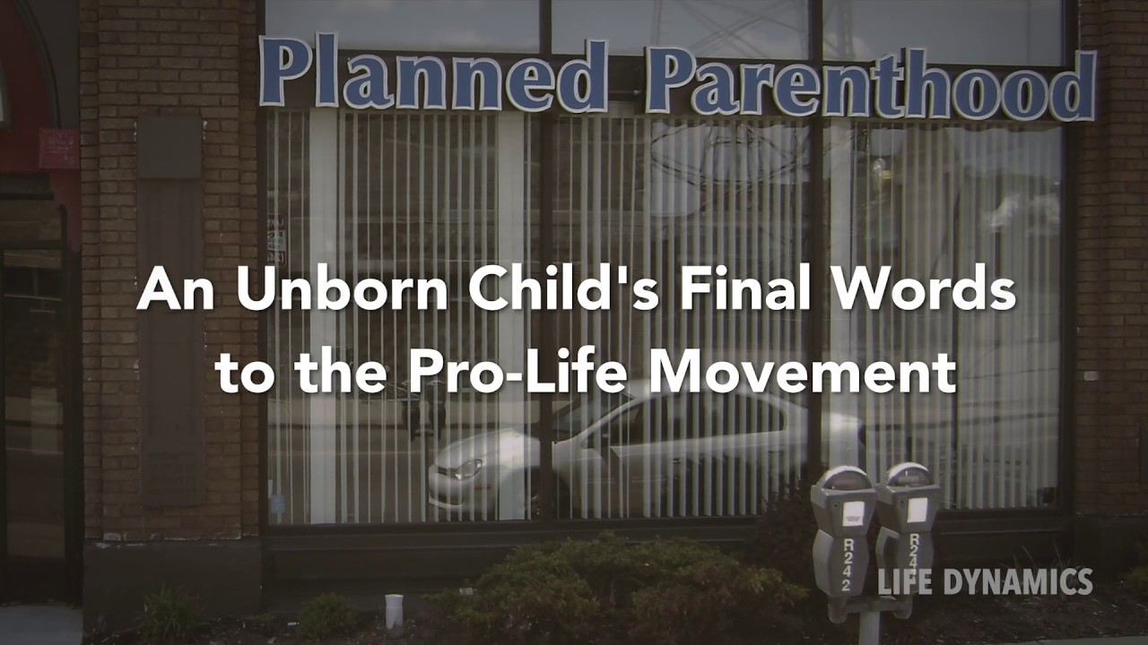 A Message From The Unborn