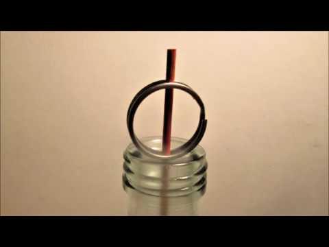 Incense Burner made from a Wine Bottle