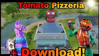 The Sims 4 Fortnite Tomato pizzeria + download link!