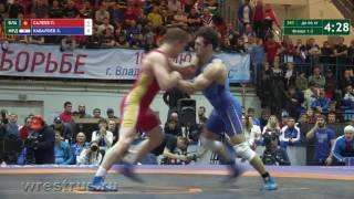ЧР-2017. гр.б. 66 кг. Павел Салеев - Заур Кабалоев. Финал.