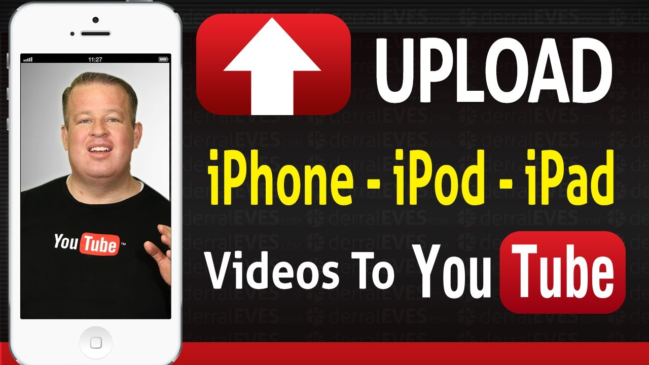 How to Upload Videos Straight From The iPhone iPod iPad to ...