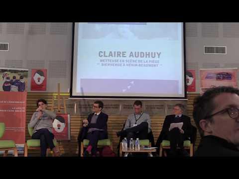 """Table ronde """"Eduquer à la laïcité"""" - Claire Audhuy"""