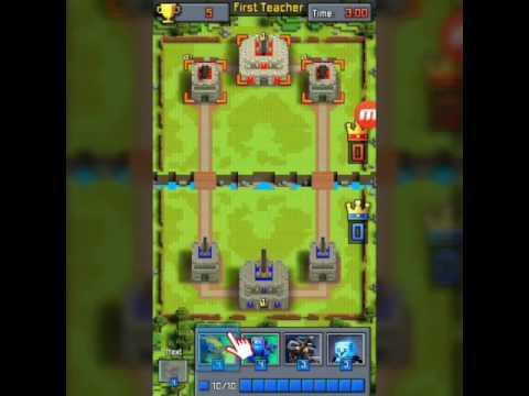 Clash royale a pixel!!!craft royale