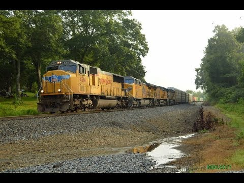 HD: Railfanning Norfolk Southern Birmingham East District 8/11/2017
