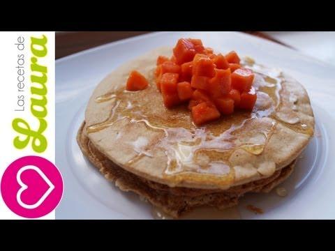 HotCakes Saludables Las Recetas de Laura Comida Saludable Desayuños saludables