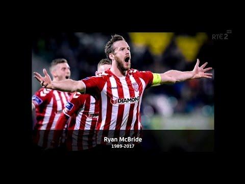 Ryan McBride Tribute - Derry City 4-0 Drogheda United - 18th March 2017