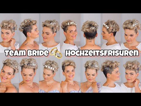 Kurze Haare Stylen Hochzeit Kurze Haare Festlich Gestylt