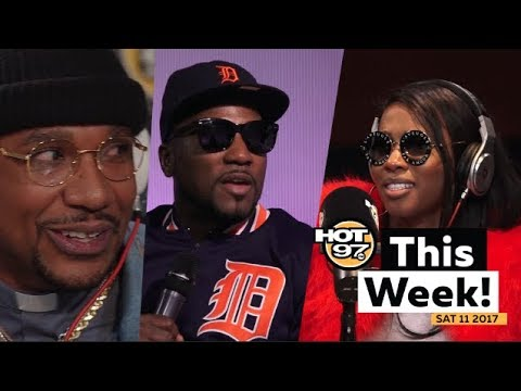 Remy Ma w/ Lil Kim, Jeezy & the Business & Cyhi The Prynce Freestill + MORE HOT 97 This Week!