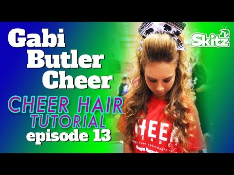 Cheer Hair Tutorial | Episode 13 | Gabi Butler Cheer