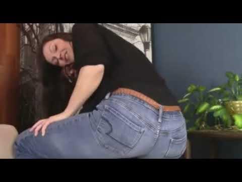 Jeans girl fart in Married mom