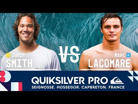 Jordy Smith vs. Marc Lacomare - Round Three, Heat 6 - Quiksilver Pro France 2017