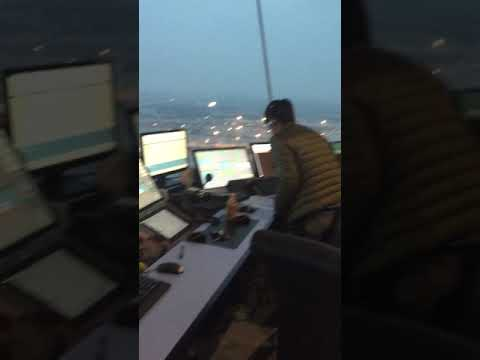 A visit to New modern Chengdu air traffic control tower.