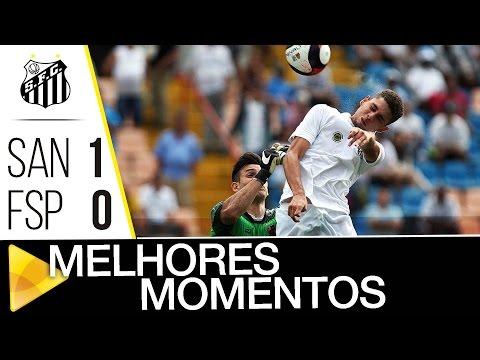 Santos 1 x 0 Flamengo-SP | MELHORES MOMENTOS | Copa SP (11/01/17)