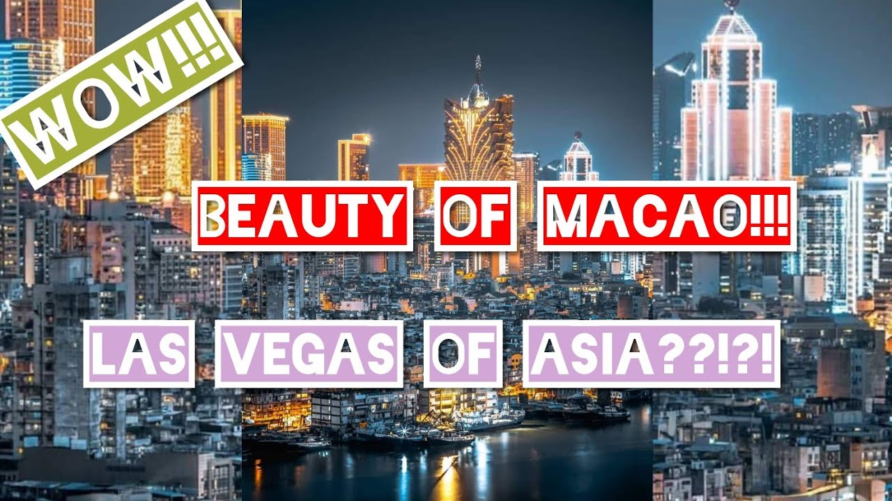 MACAU | HOTEL & CASINOS | BEAUTY OF MACAU | EXPLORING MACAU