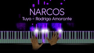 Narcos Theme - Tuyo (Rodrigo Amarante) - Cover by Pkeys - Sheet Music + MIDI