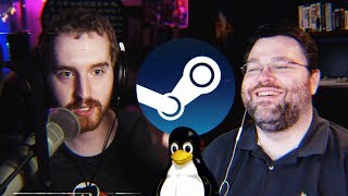 Linux Gaming gets a MASSIVE Update - Chatting Steam for Linux update w/ Wendell from Level1Techs!