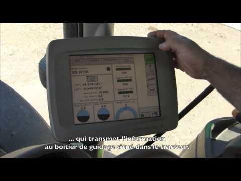 Utilisation du GPS RTK en agriculture biologique
