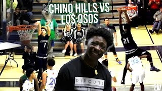 chino hills scores 115 in 24 minutes liangelo 60 points vs los osos   full highlights