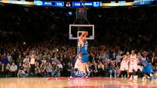 Taco Bell Buzzer Beater: Dirk Nowitzki vs The New York Knicks