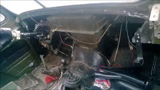 видео Электропроводка и сборка панели Виктория на УАЗ-Hunter