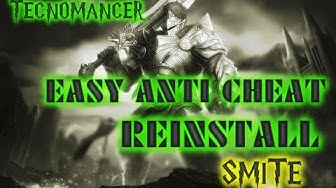 "[SMITE] Reinstall ""Easyanticheat"" [PTBR / ENG]"