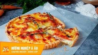 Học làm bánh - Cách làm bánh Quiche Lorraine trứ danh của Pháp