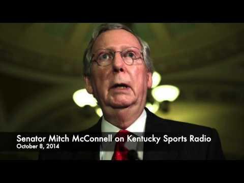 Senator Mitch McConnell on Kentucky Sports Radio