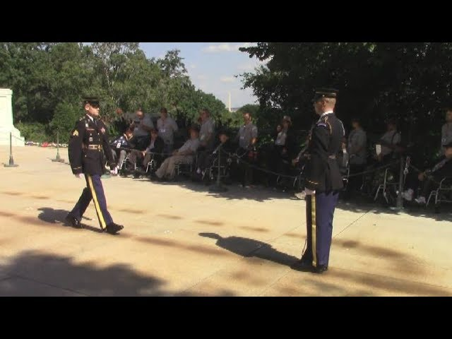 HTS - North Country Honor Flight in DC part one  9-29-18
